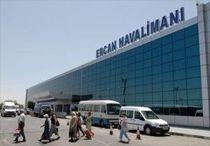Kıbrıs Ercan Havaalanı Geliş Peronu önü